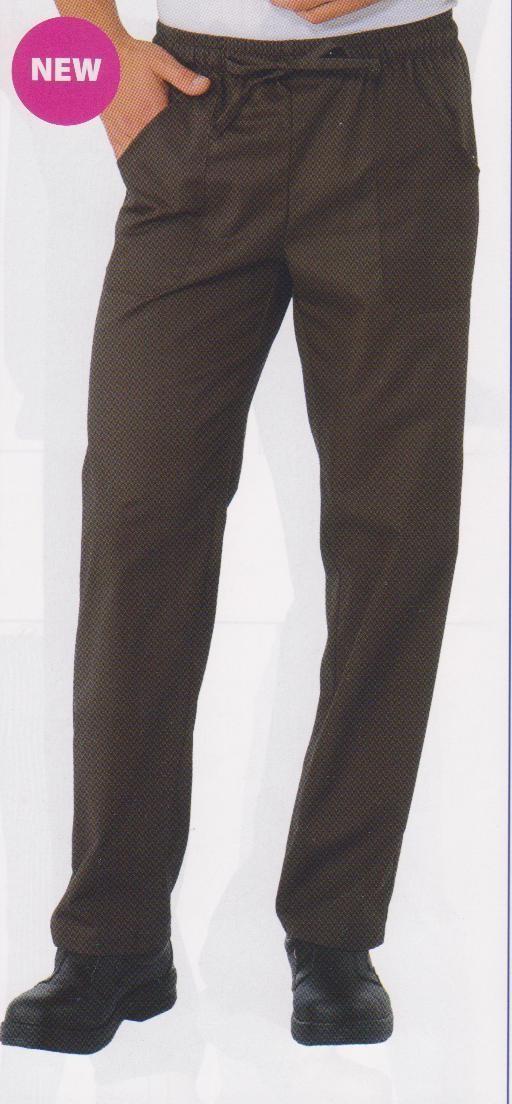 Pantalon cuisnier elastique noir isacco v tements for Cuisinier extra