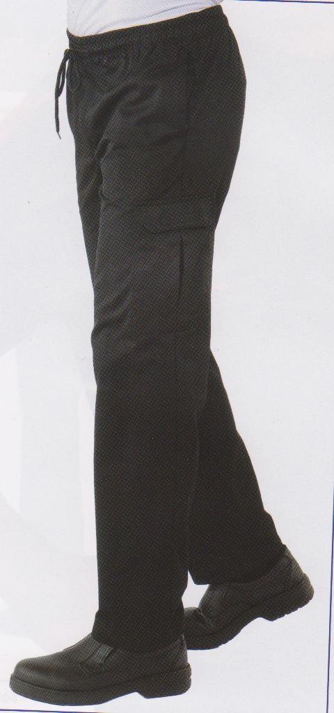 pantalon cuisinier extra grandes taille noir v tements